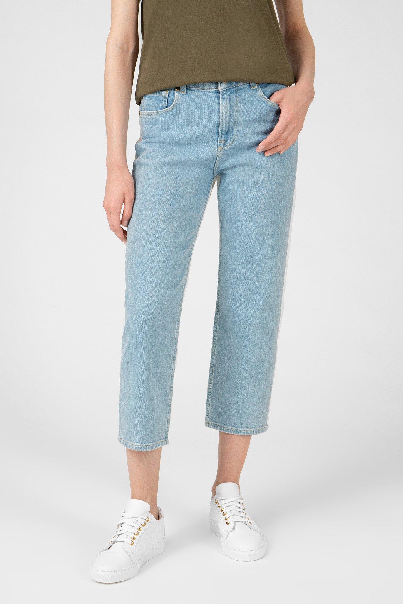 Женские голубые джинсы 1