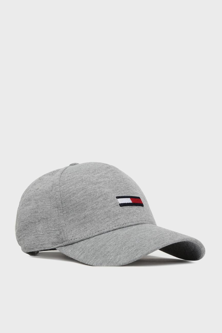 Мужская серая кепка TJM FLAG CAP JERSEY