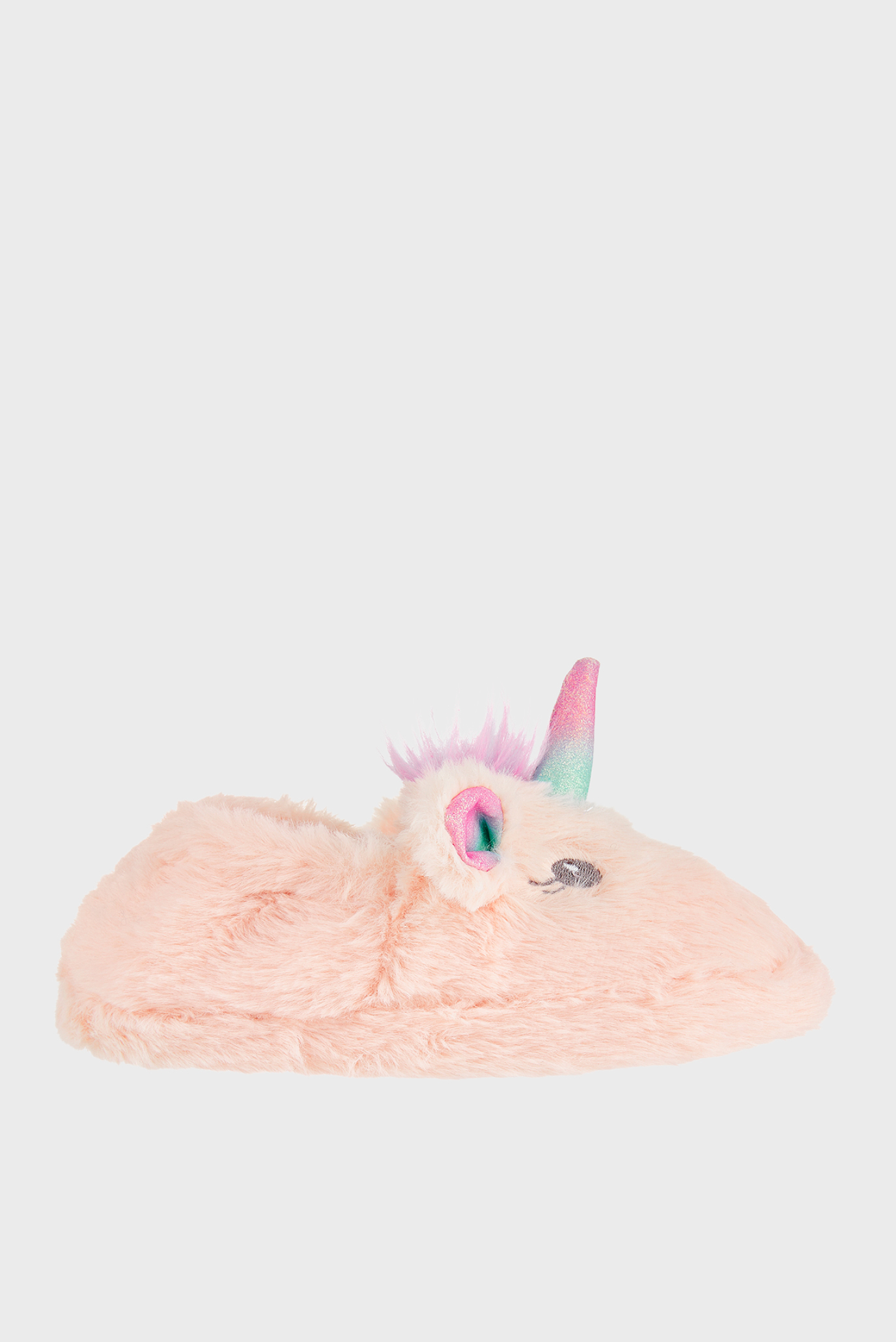 Детские розовые домашние тапочки GLITTER UNICORN SLIP Accessorize