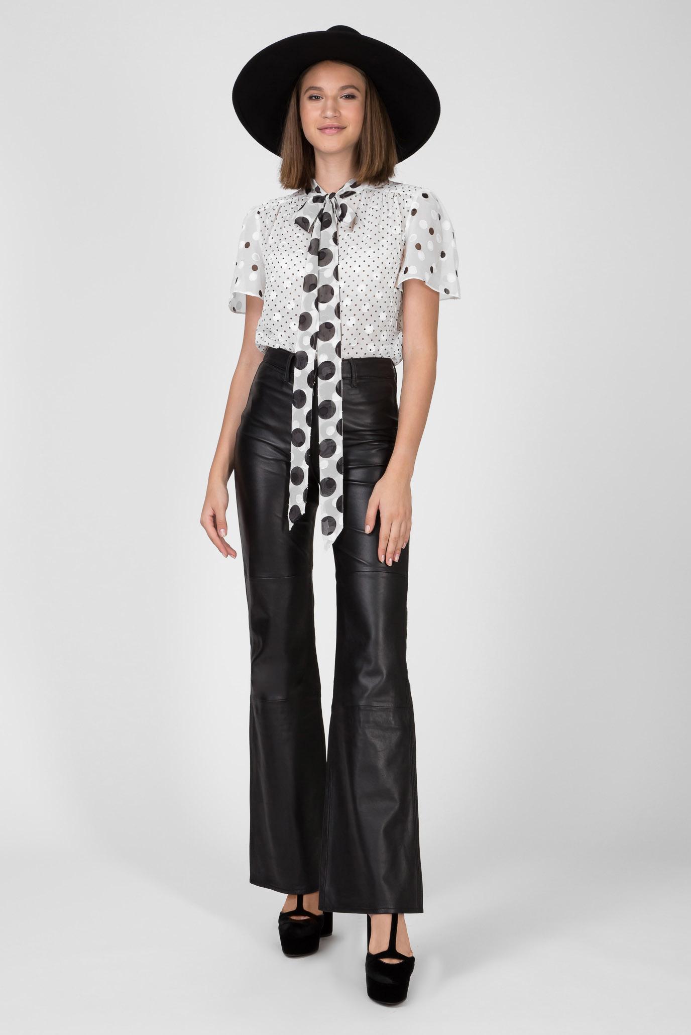 Женские черные кожаные брюки ZENDAYA Tommy Hilfiger