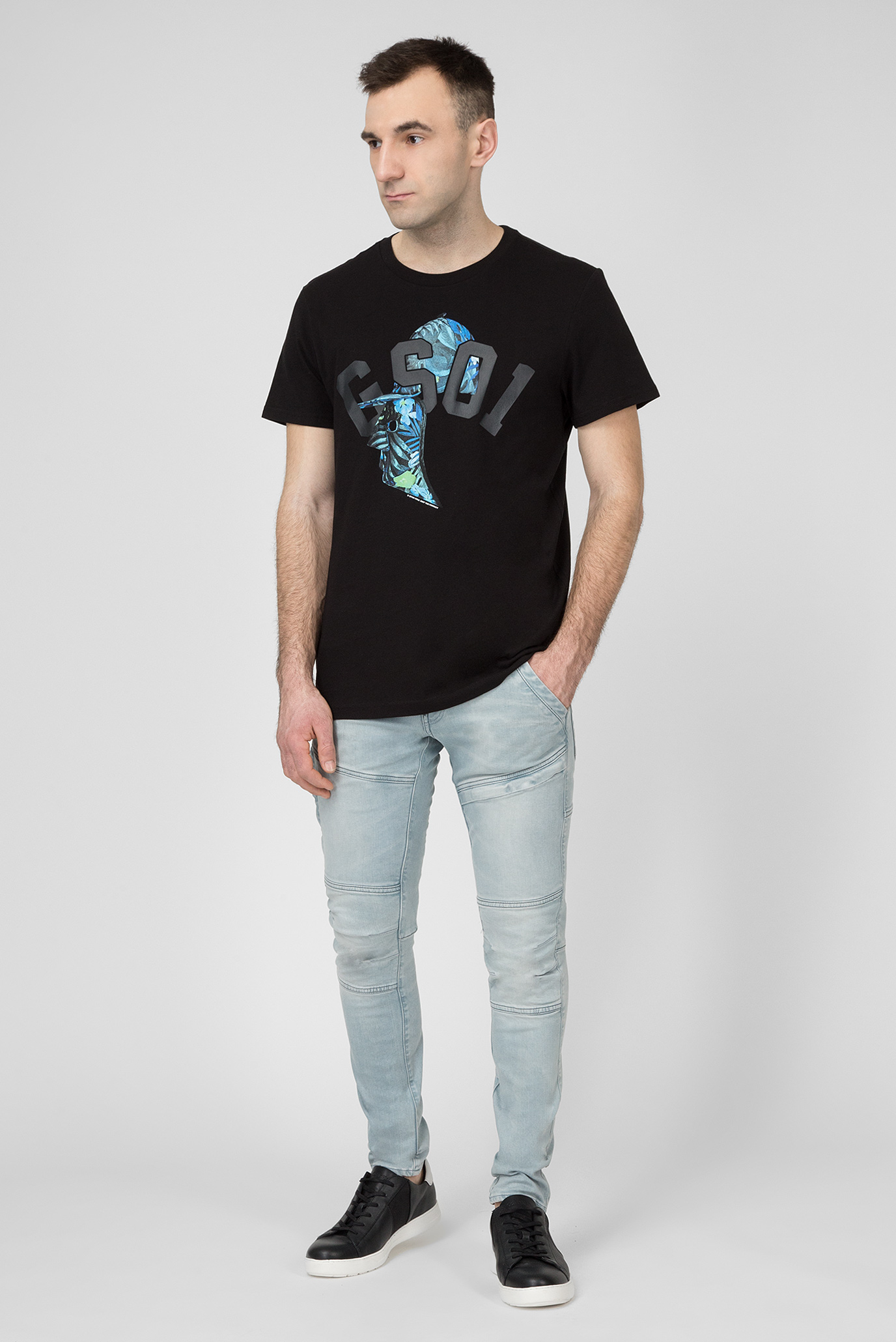 Купить Мужские голубые джинсы RACKAM G-Star RAW G-Star RAW D06763,9882 – Киев, Украина. Цены в интернет магазине MD Fashion