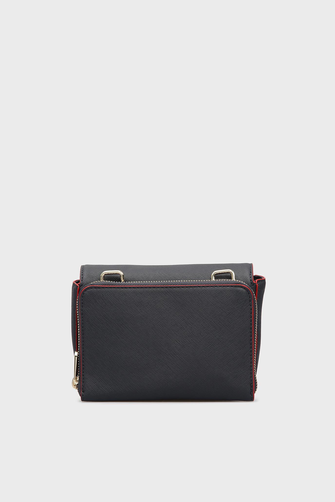 Купить Женская темно-синяя сумка через плечо HONEY MINI CROSSOVER Tommy Hilfiger Tommy Hilfiger AW0AW05654 – Киев, Украина. Цены в интернет магазине MD Fashion