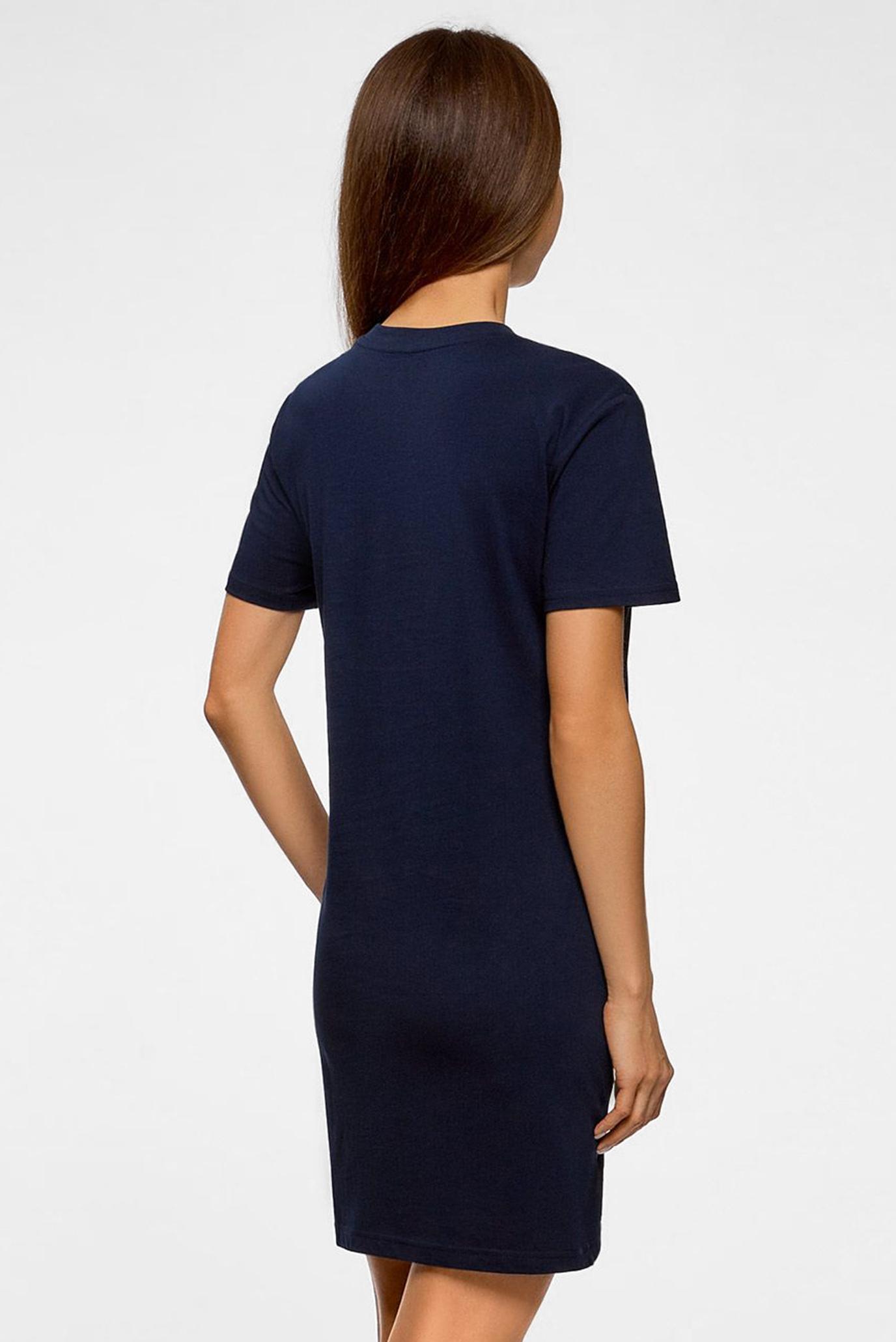 Жіноча синя сукня Oodji