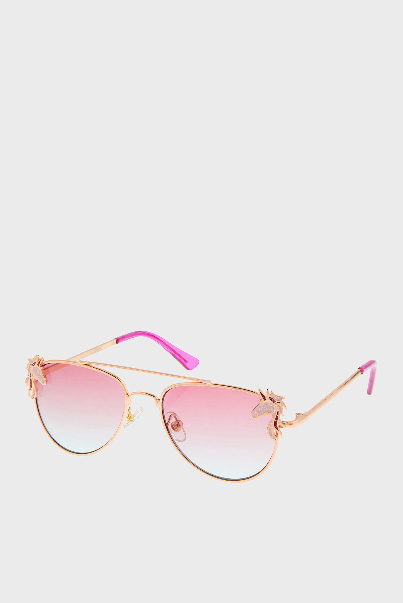 Дитячі золотисті окуляри NARLA UNICORN AVIAT 1