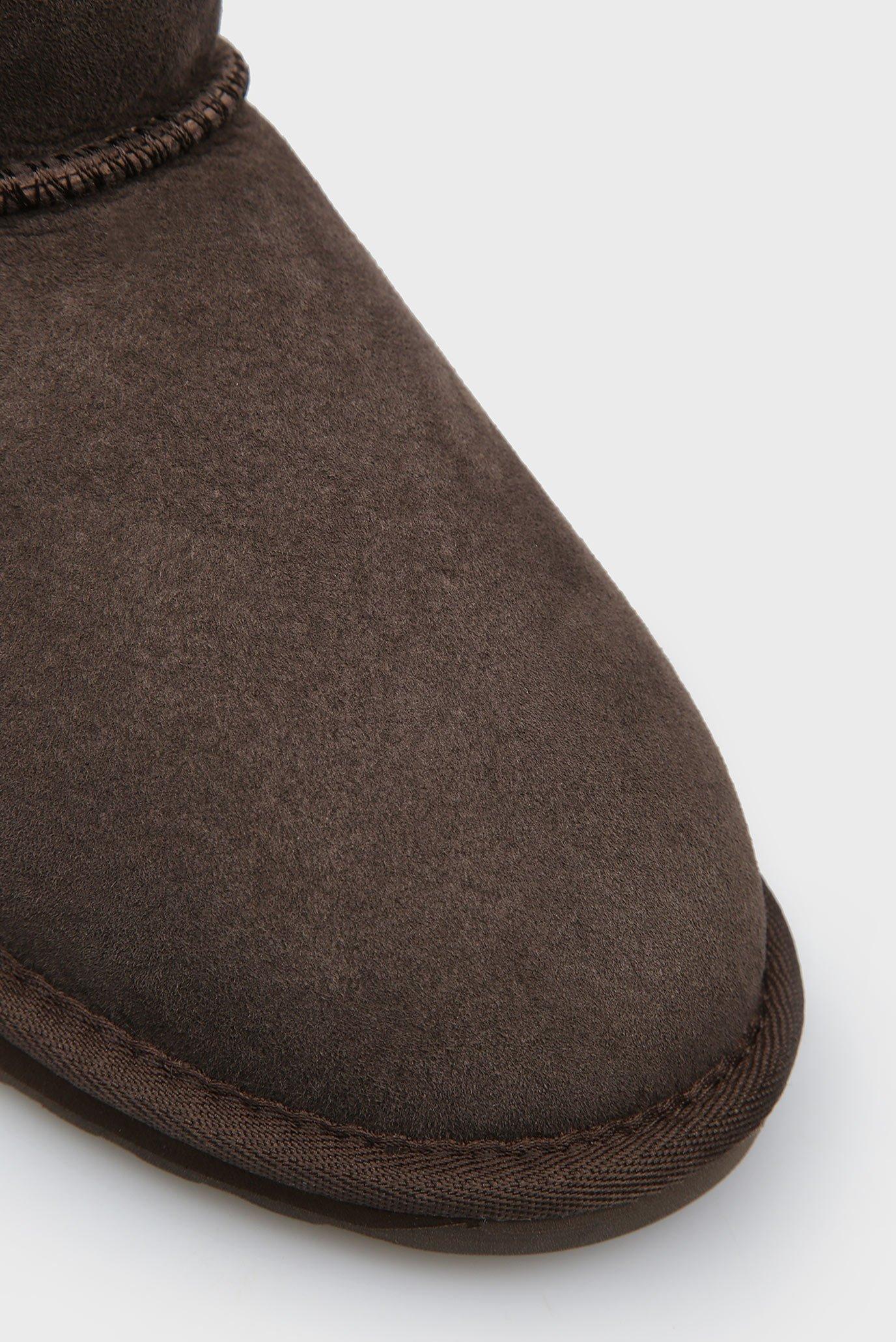 Женские коричневые замшевые угги Stinger-Micro EMU Australia