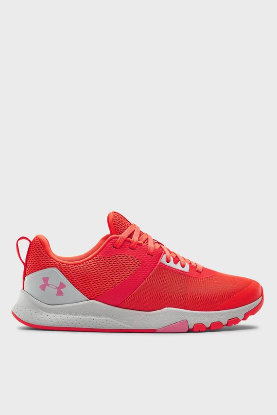Женские красные кроссовки UA W TriBase Edge Trainer-RED