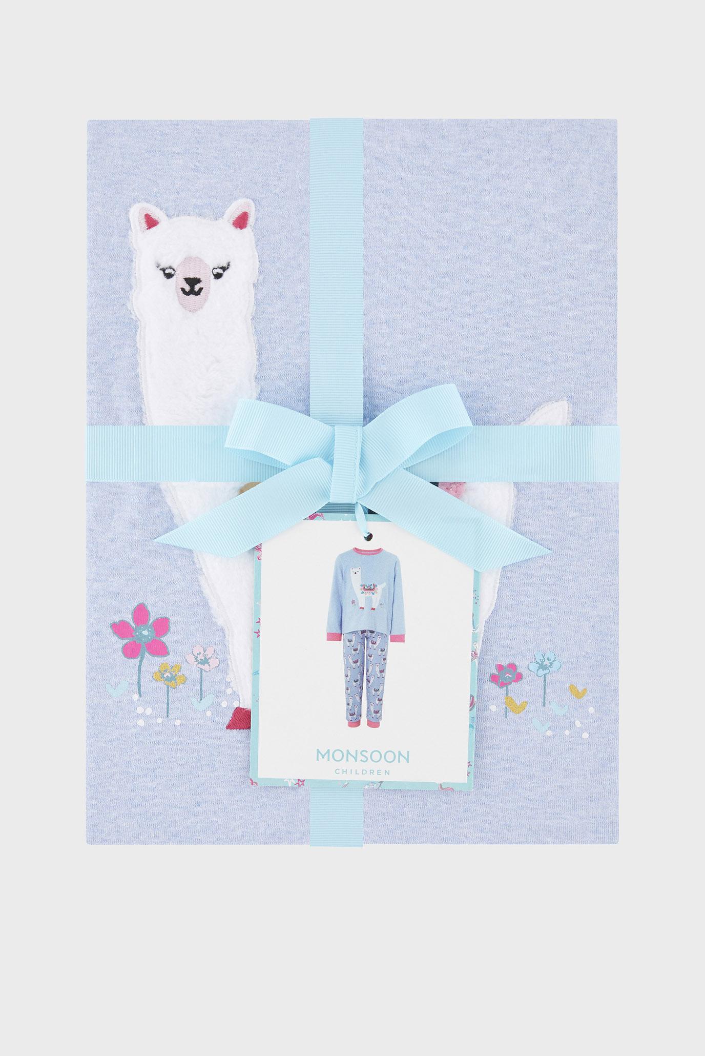 Купить Детская голубая пижама LIBBY LLAMA (свитшот, брюки) Monsoon Children Monsoon Children 514265 – Киев, Украина. Цены в интернет магазине MD Fashion