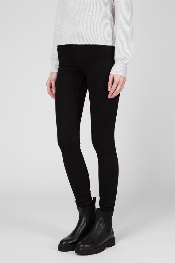 Женские черные джинсы SKINNY SUPER STRETCH