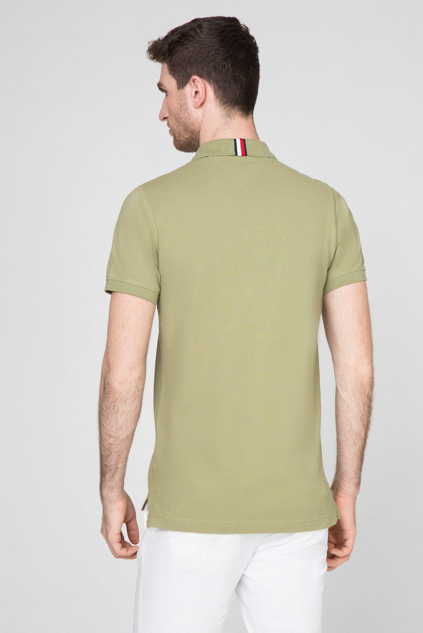 Мужское зеленое поло TONAL UTILITY Tommy Hilfiger
