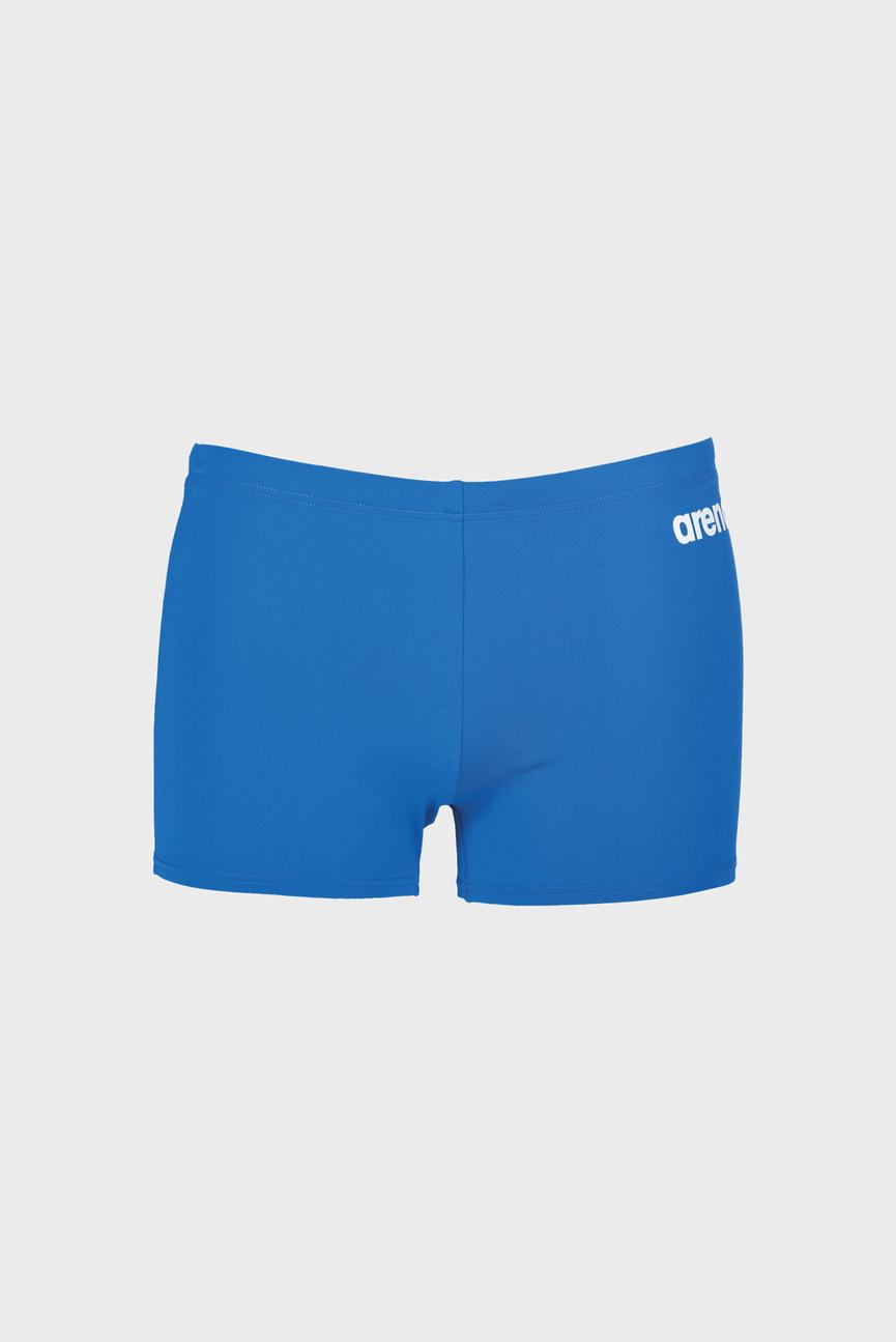 Мужские голубые  плавки SOLID SHORT