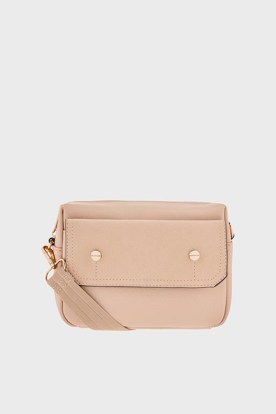Женская бежевая сумка UNA UTILITY