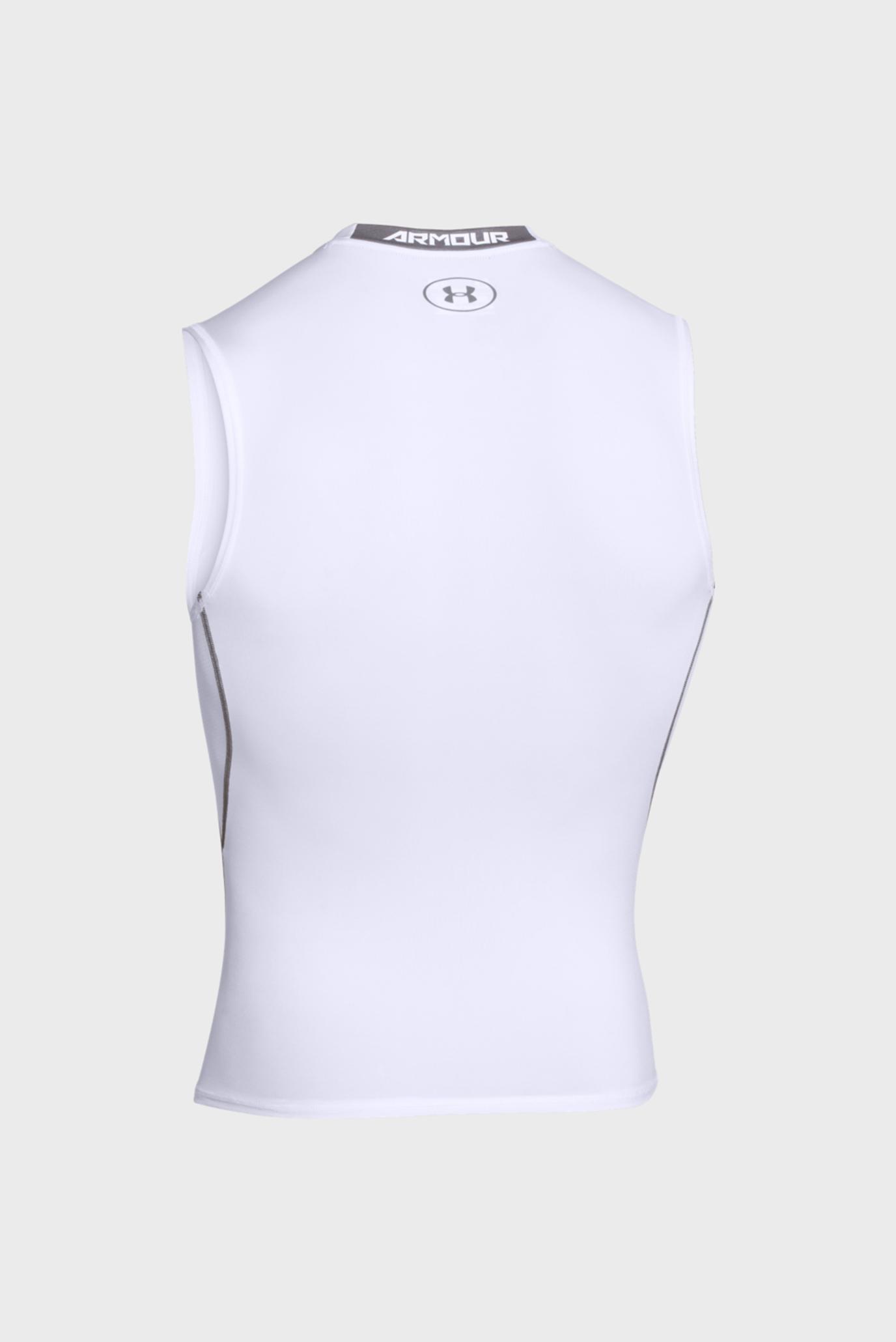 Купить Мужская белая майка UA HG ARMOUR SL Under Armour Under Armour 1257469-100 – Киев, Украина. Цены в интернет магазине MD Fashion