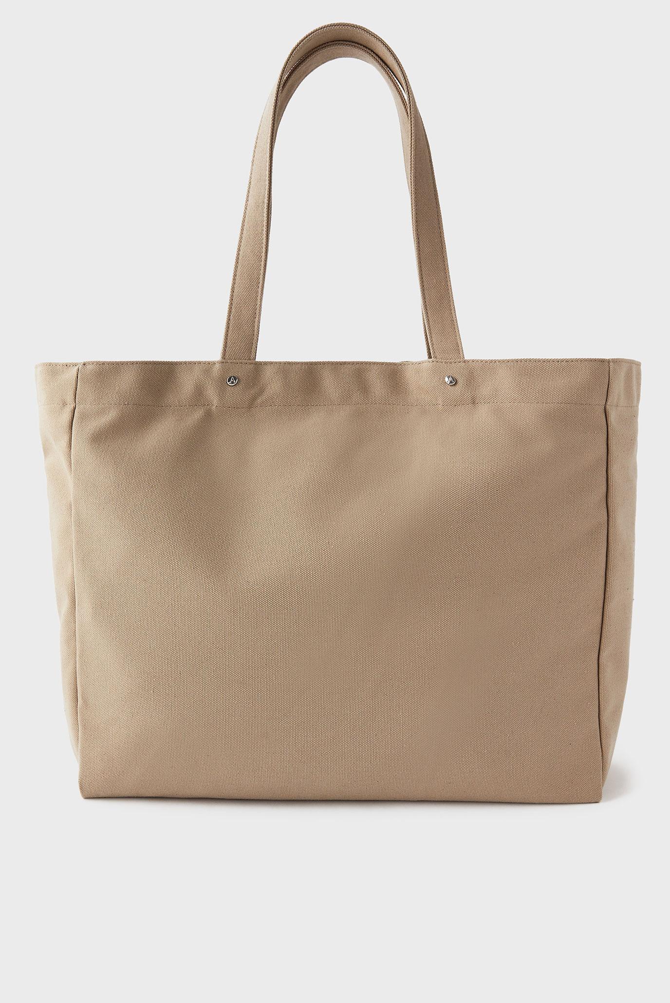 Женский бежевый шоппер Canvas Shopper 1
