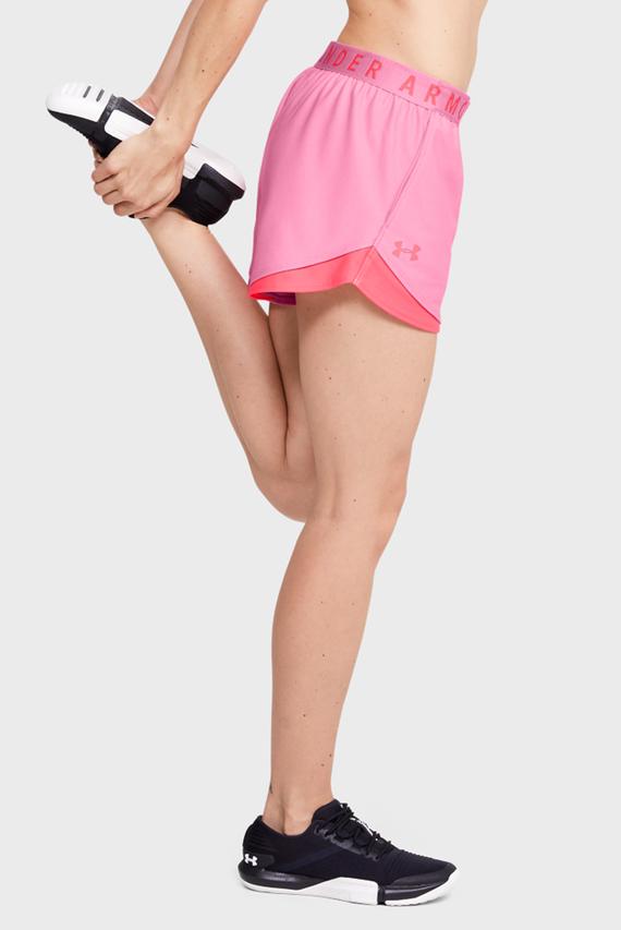 Женские розовые спортивные шорты Play Up Short 3.0