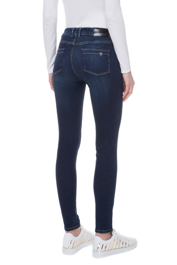 Женские темно-синие джинсы JEGGING MID ULTRA SKINNY