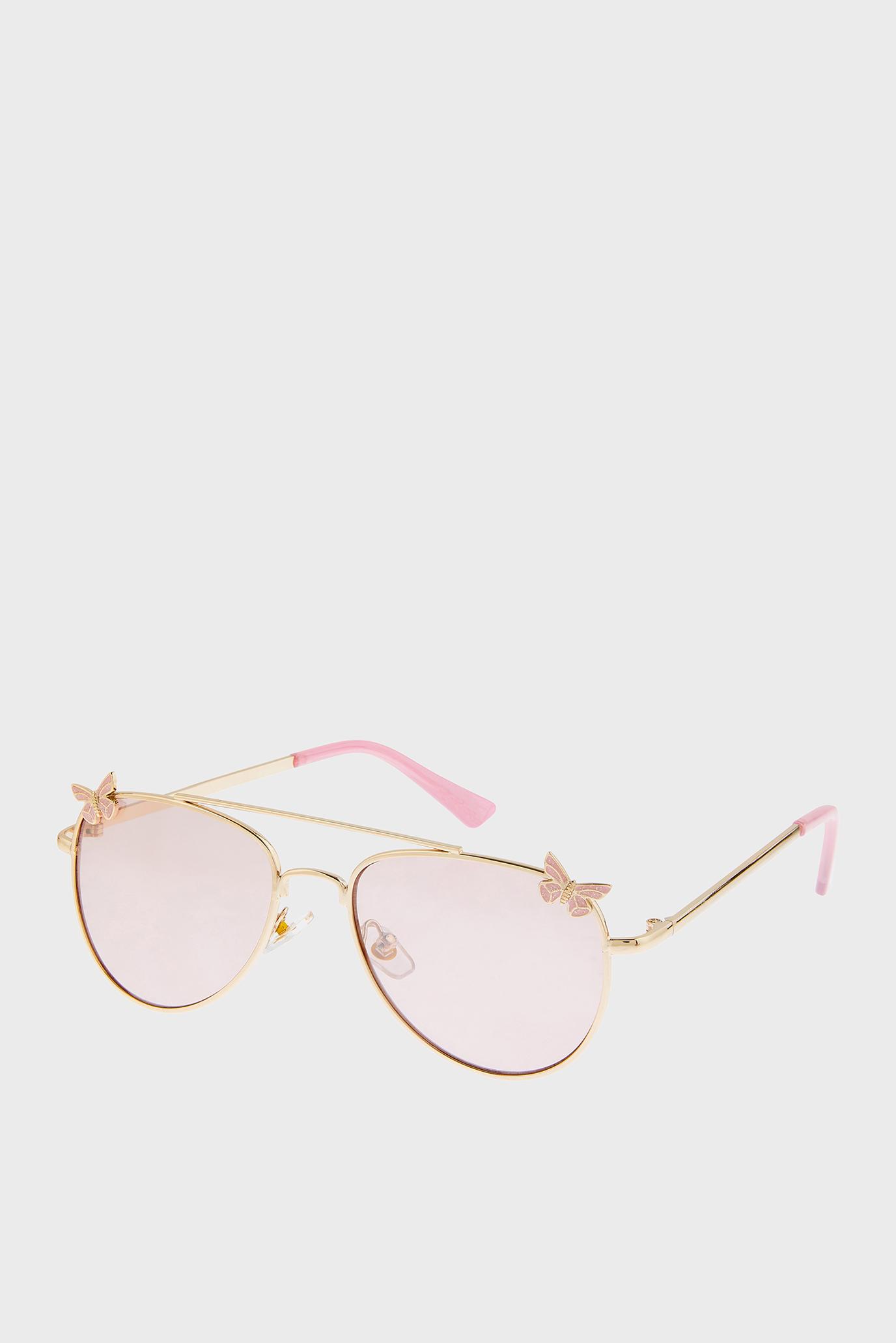 Дитячі золотисті окуляри BUTTERFLY AVIATO 1