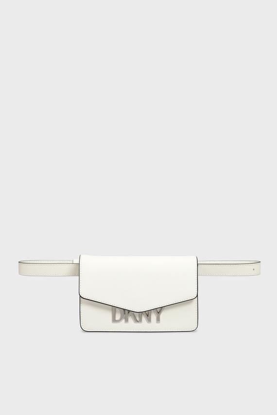 Женская белая поясная сумка PENELOPE