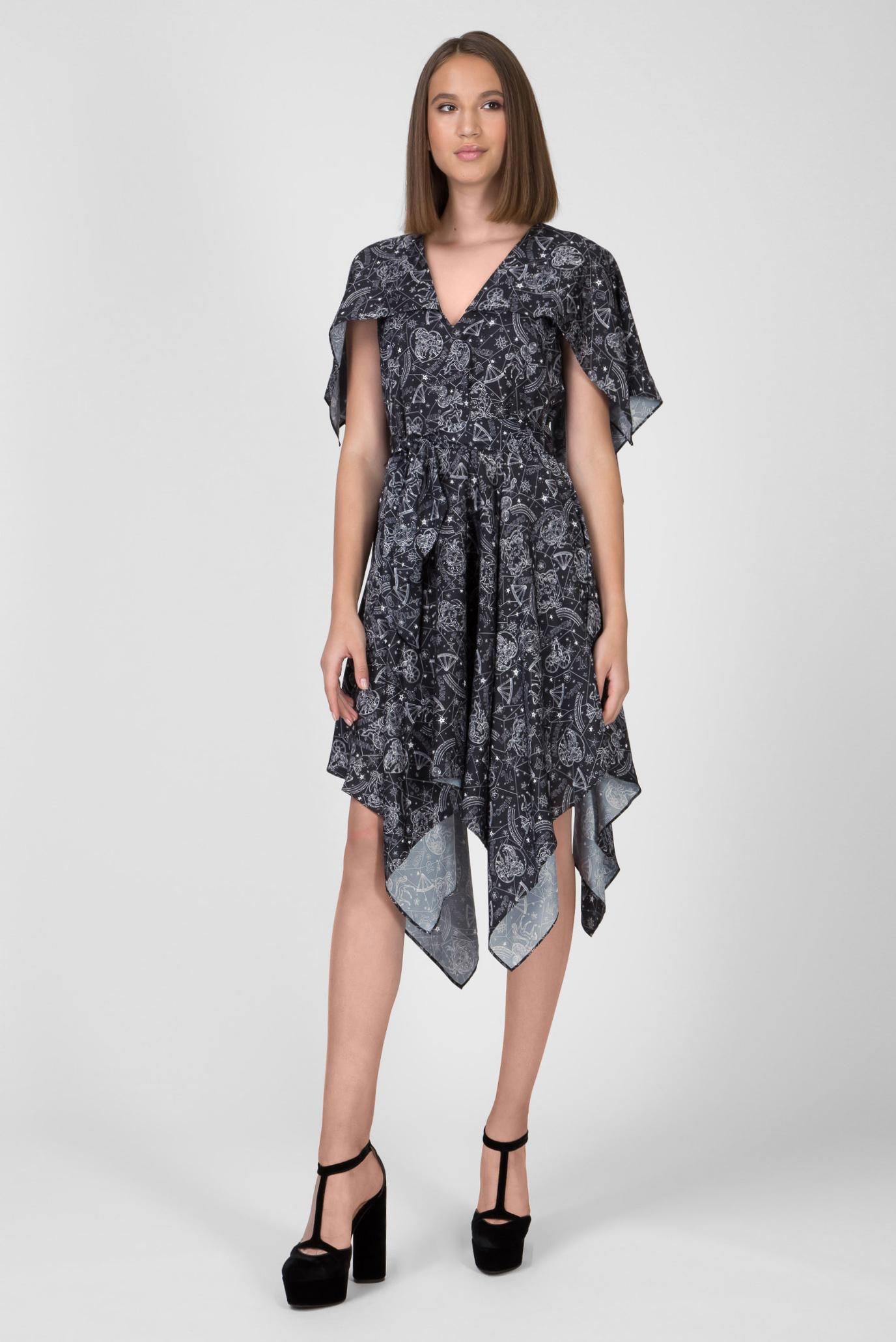 Женские черное платье с принтом ZENDAYA AF Tommy Hilfiger