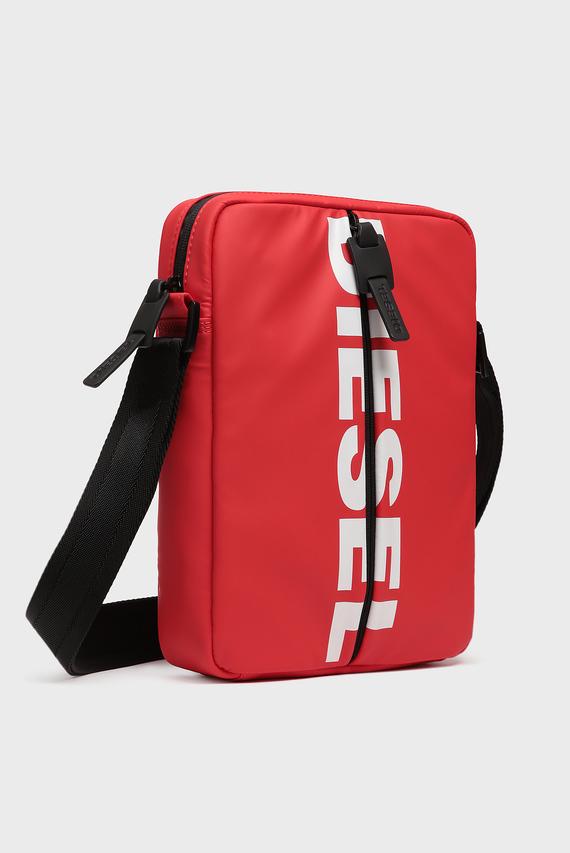 Мужская красная сумка через плечо BOLDMESSAGE / F-BOLD