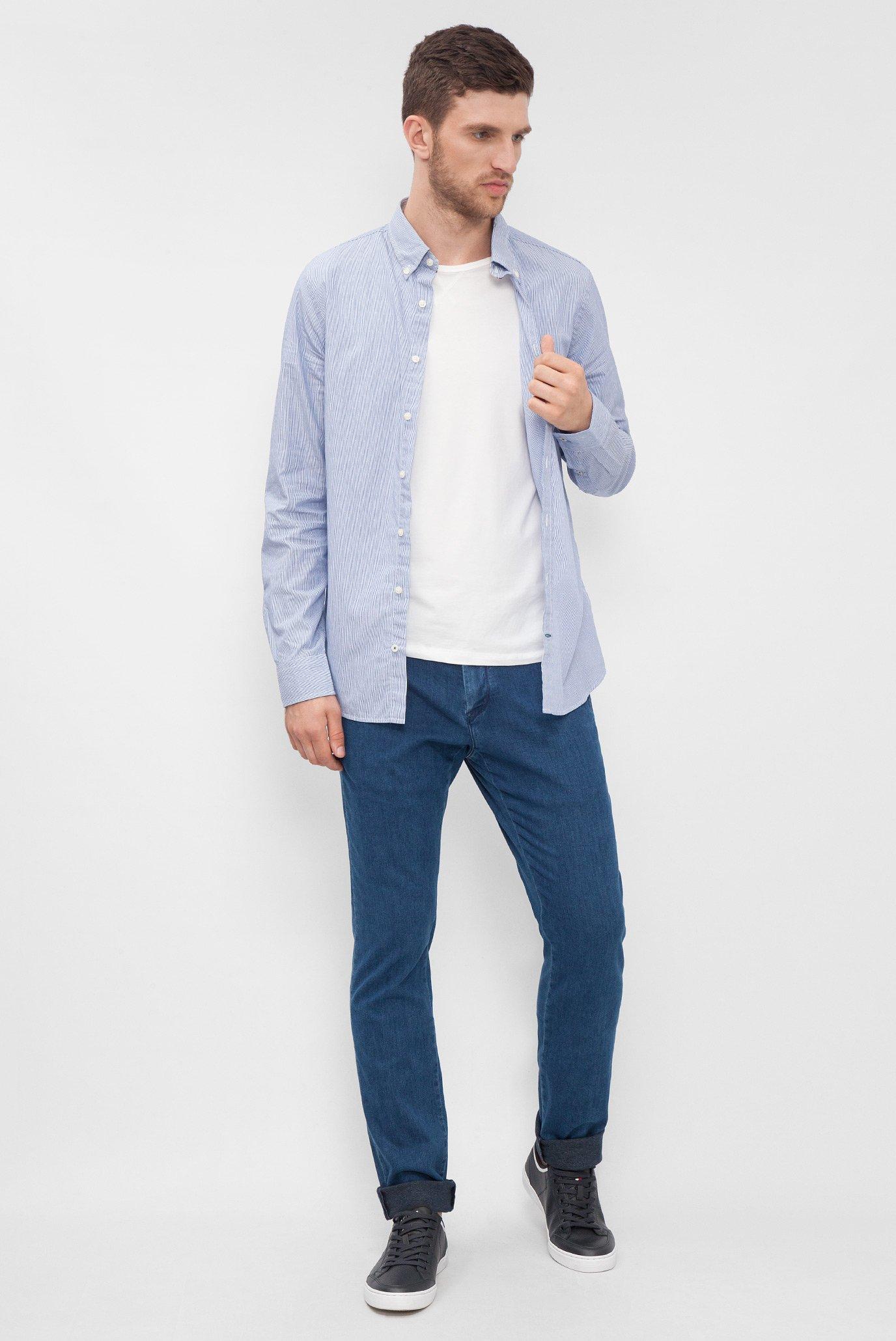 Купить Мужские синие джинсовые чиносы DENTON CHINO Tommy Hilfiger Tommy Hilfiger MW0MW02213 – Киев, Украина. Цены в интернет магазине MD Fashion