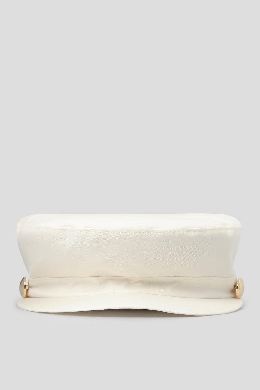 Женское белое кепи