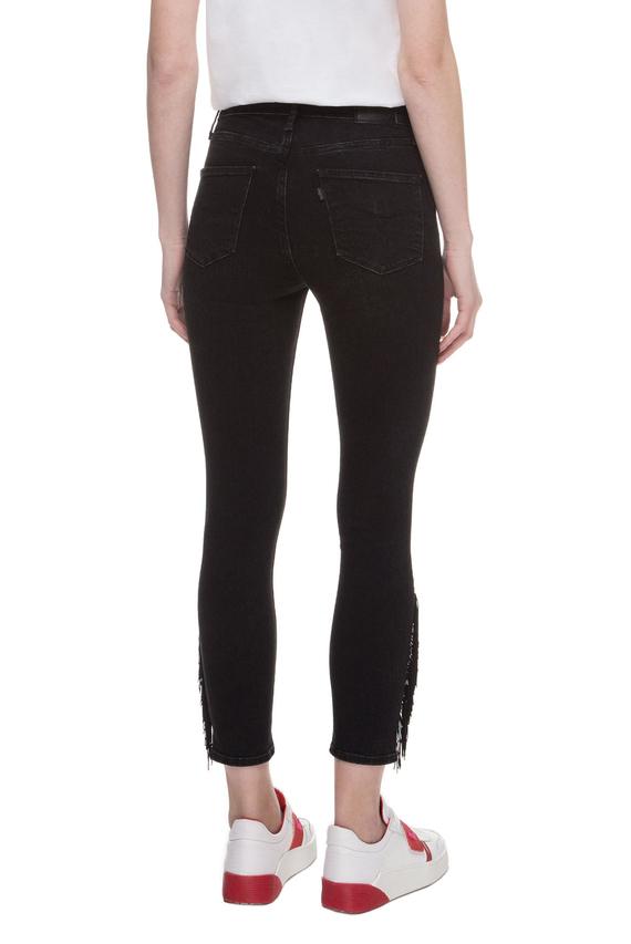 Женские черные джинсы 721 High Rise Skinny