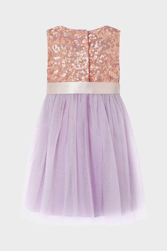 Детское фиолетовое платье BABY TRUTH DRESS
