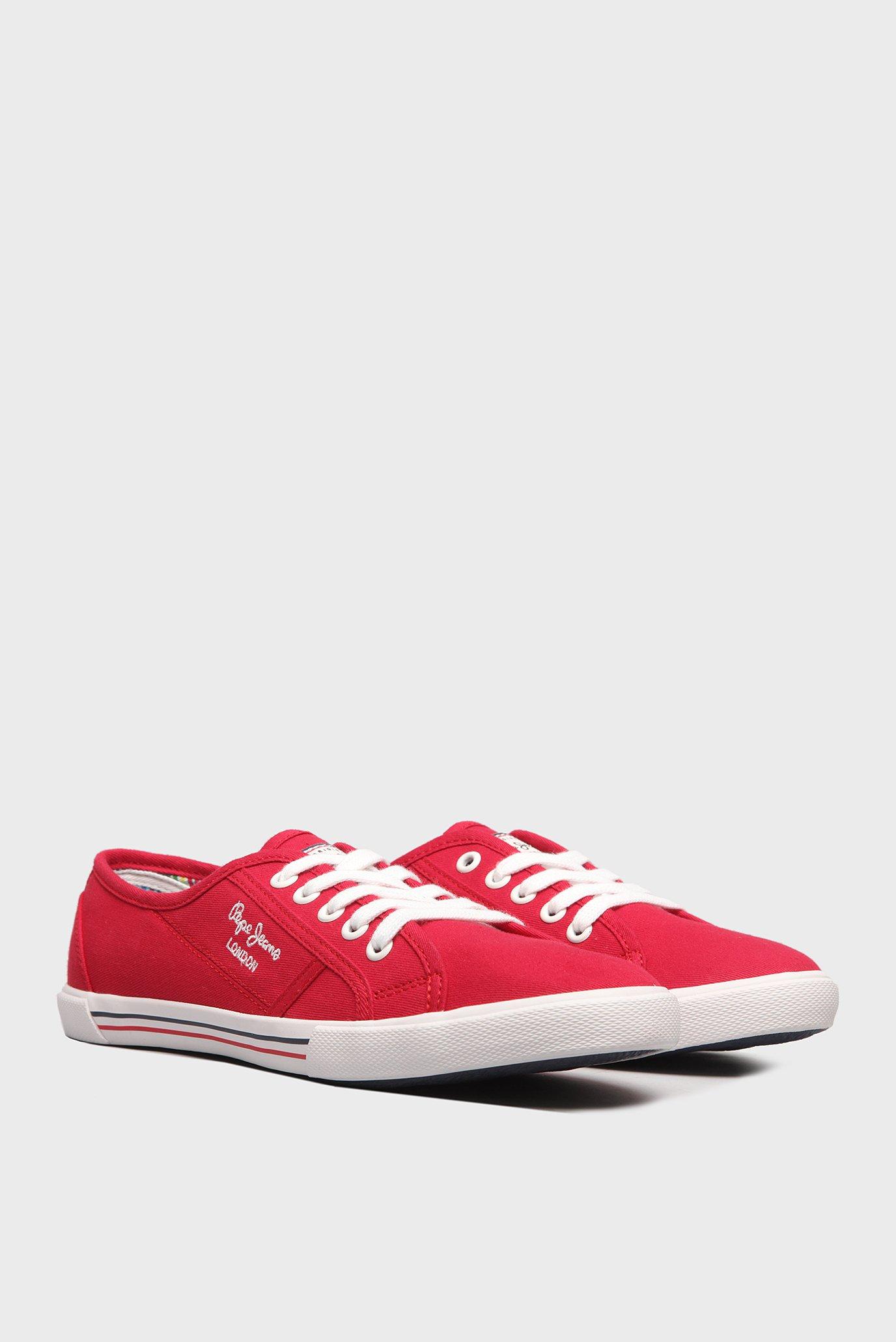 Купить Женские красные кеды Pepe Jeans Pepe Jeans PLS30500 – Киев, Украина. Цены в интернет магазине MD Fashion