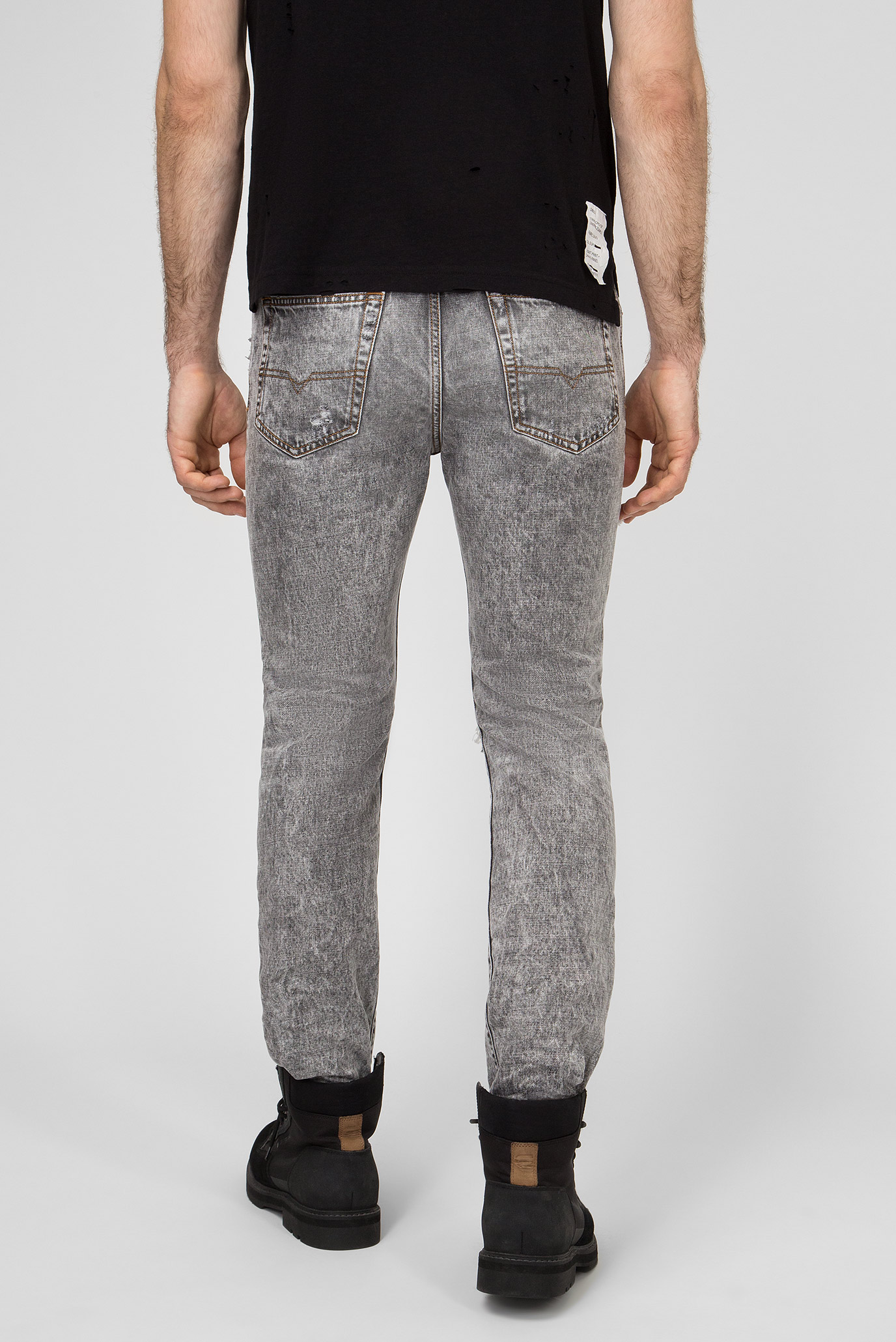 Мужские серые джинсы MHARKY Diesel