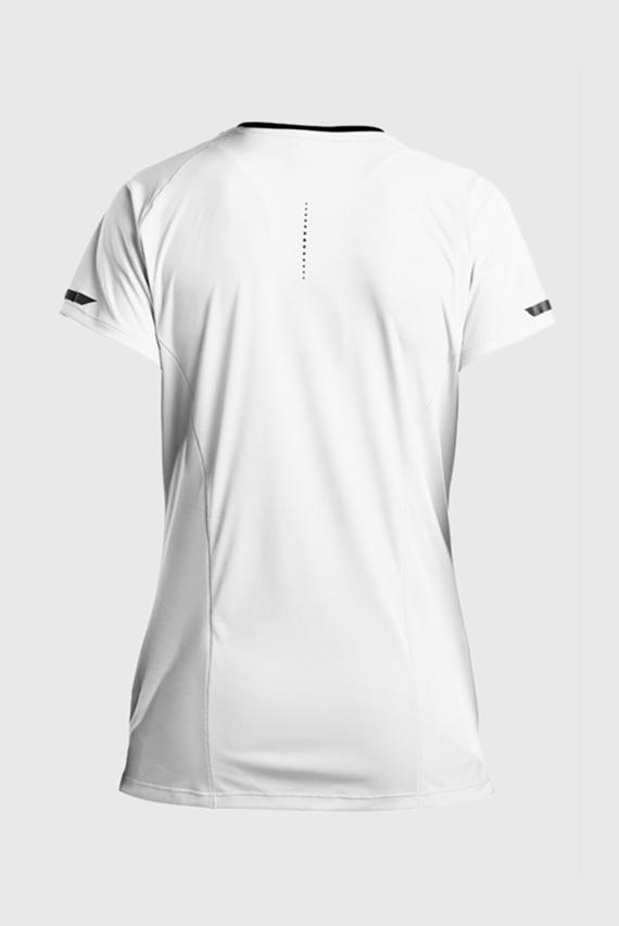 Женская белая футболка UV LITE SHORT SLEEVE