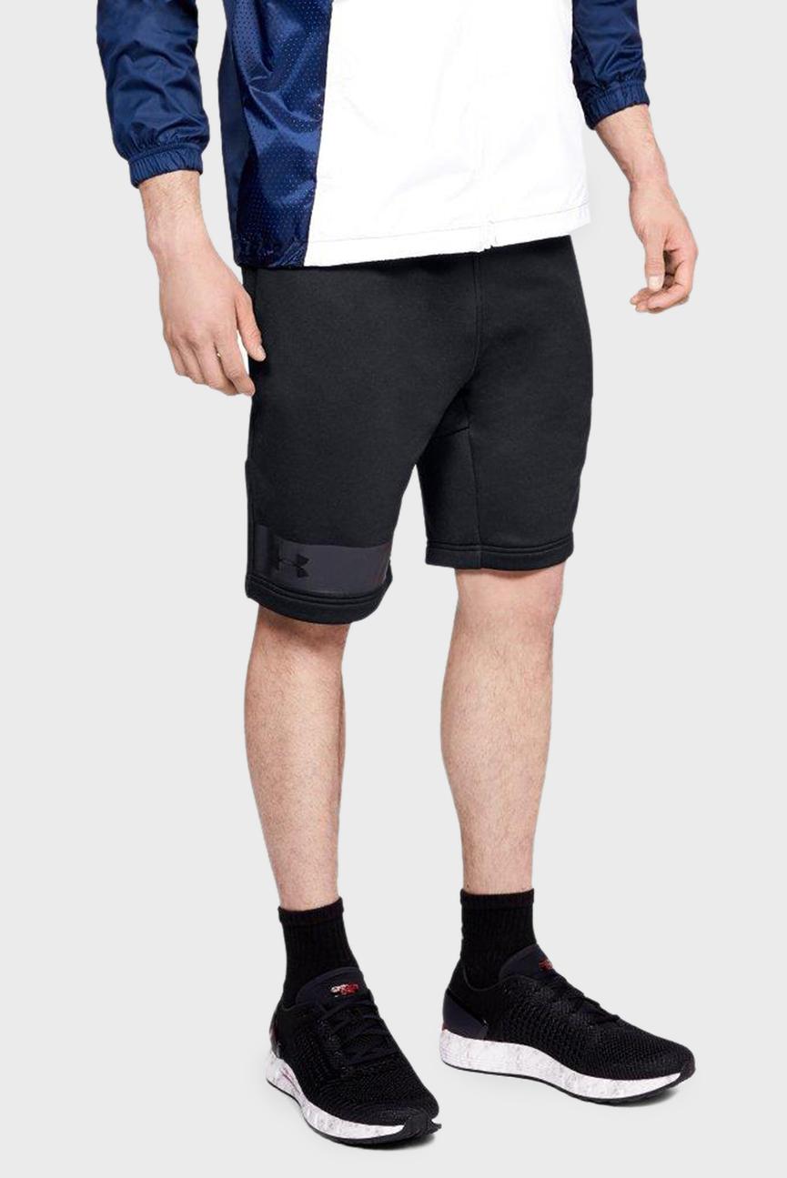 Мужские черные спортивные шорты Terry