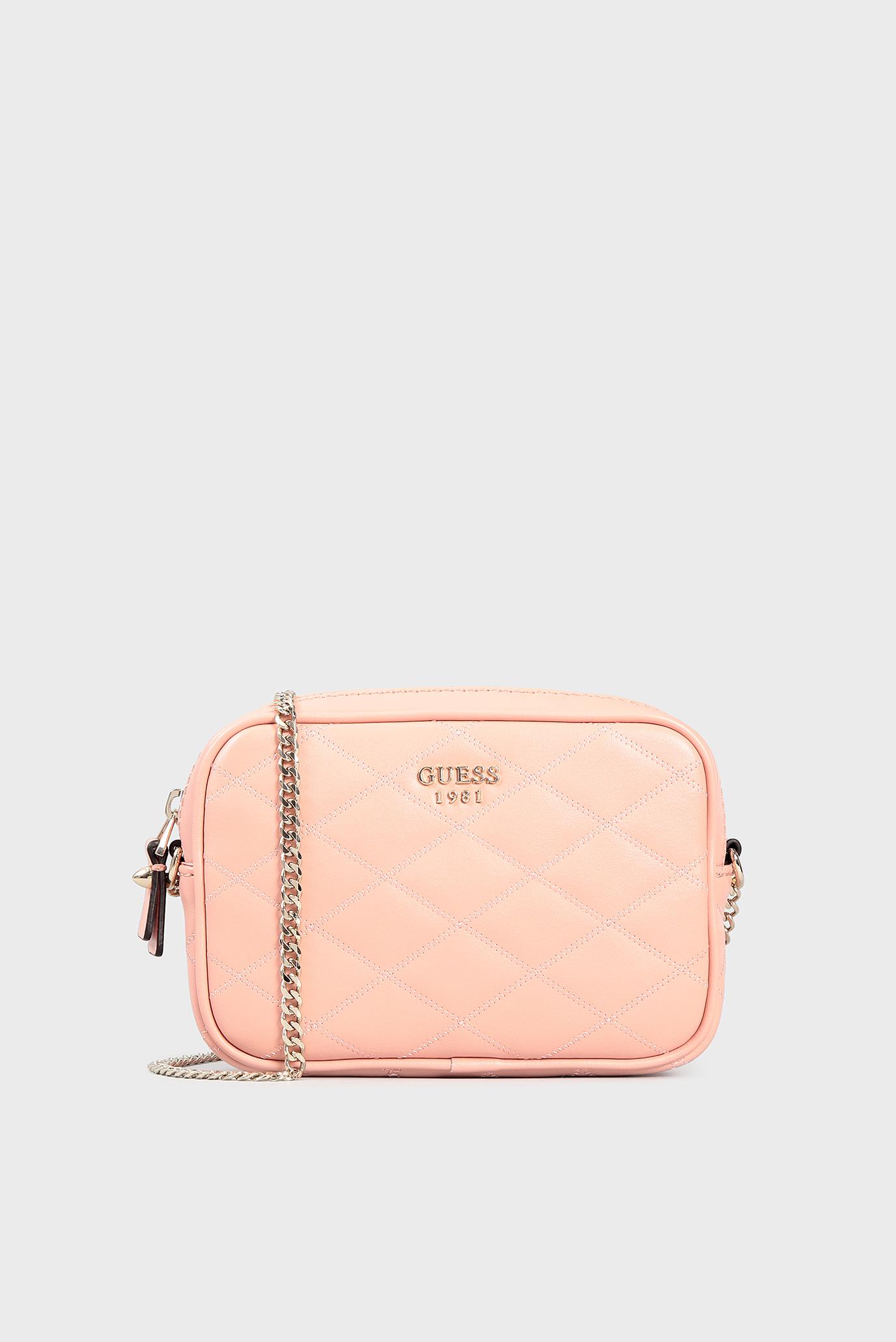 3e924805 Купить Женская розовая сумка через плечо Guess Guess HWVG6963700 – Киев,  Украина. Цены в интернет магазине MD Fashion