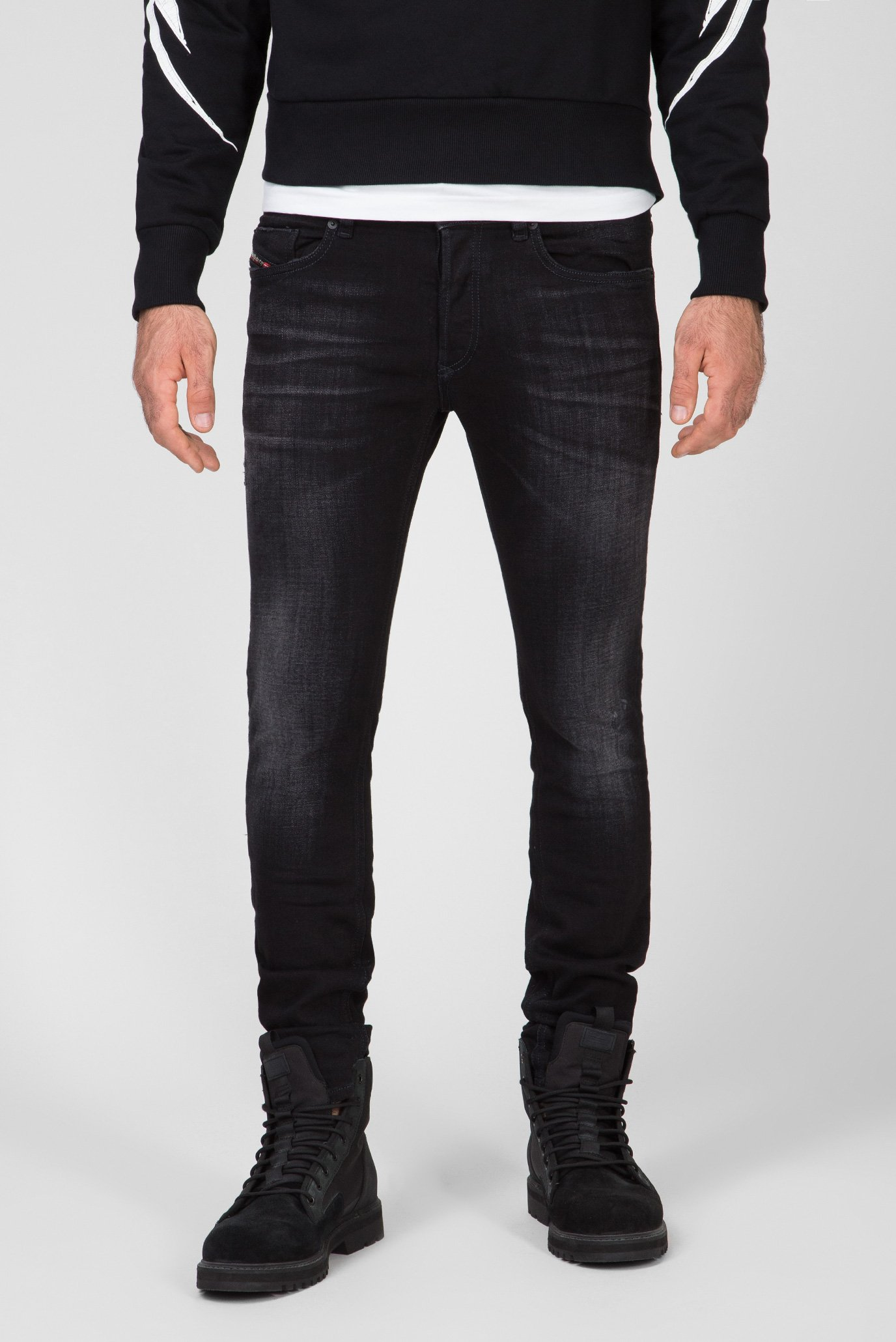 Мужские черные джинсы SLEENKER-X Diesel