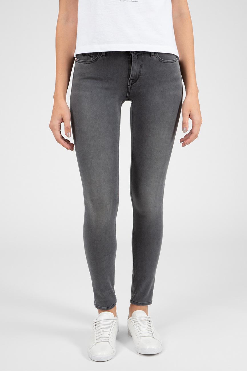 Женские серые джинсы Hyperflex+