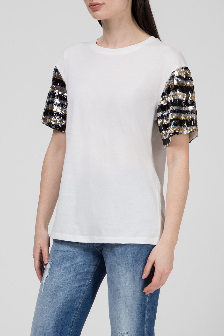 Женская белая футболка DANTAS