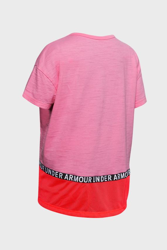 Детская розовая спортивная футболка Infinity SS Novelty Tee