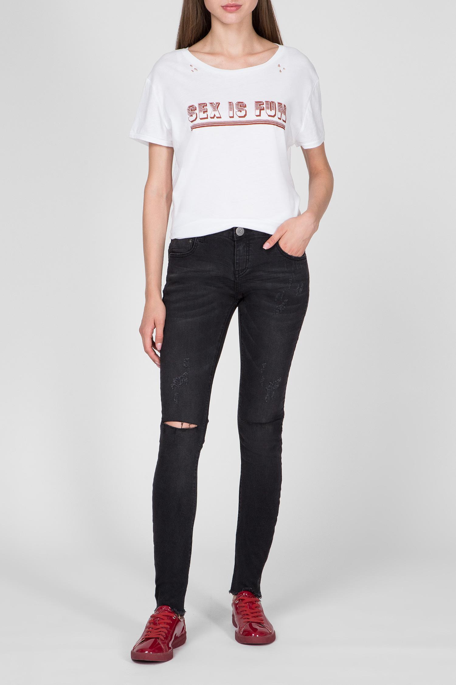 Купить Женские темно-серые джинсы BLACK PARIS HOODLUMS One Teaspoon One Teaspoon 19557B-ONE – Киев, Украина. Цены в интернет магазине MD Fashion