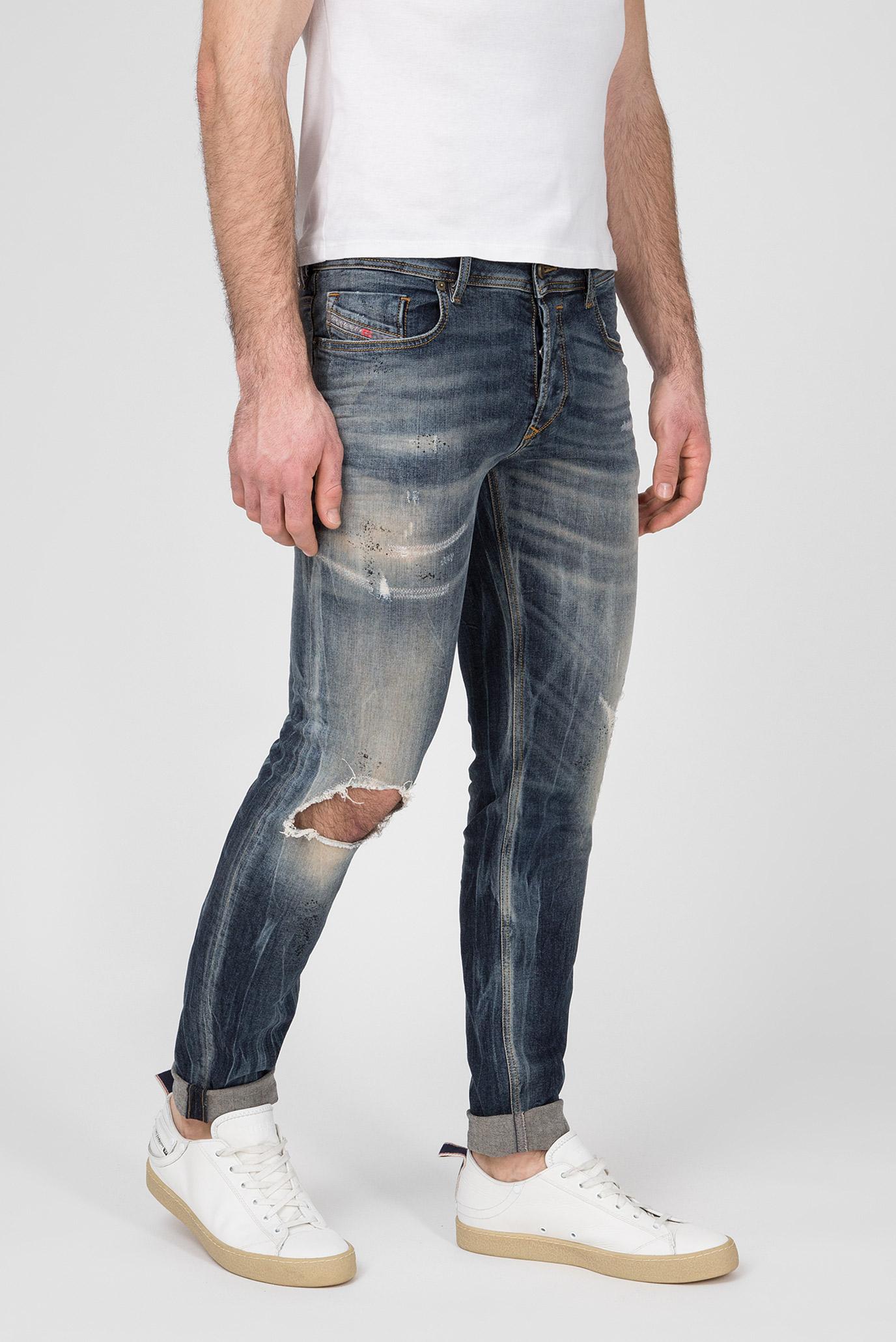 Купить Мужские синие джинсы Diesel Diesel 00S7VG 069DJ – Киев, Украина. Цены в интернет магазине MD Fashion