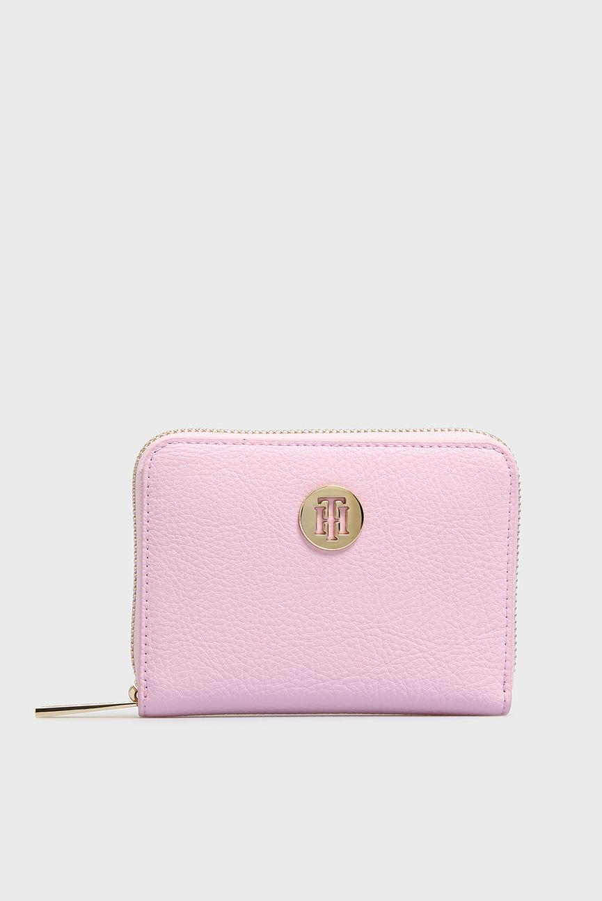 Женский розовый кошелек TH CORE COMP ZA