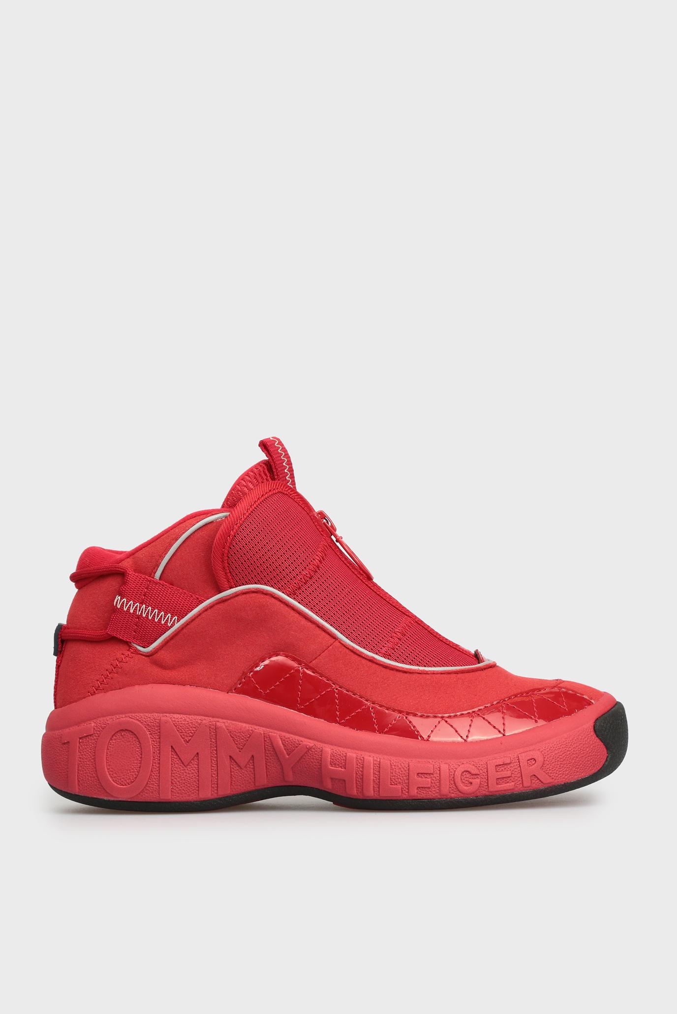 Купить Женские красные кроссовки Tommy Hilfiger Tommy Hilfiger EN0EN00375 –  Киев, Украина. Цены в интернет магазине MD Fashion 96e5d5c645d