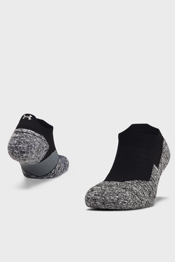 Черные носки UA Run Cushion NS Tab