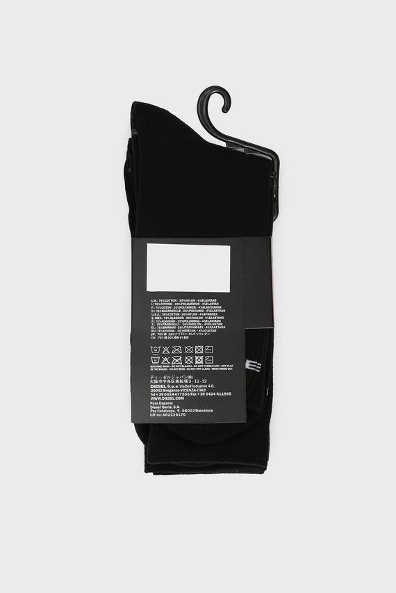 Мужские черные носки SKM-RAY (3 пары)