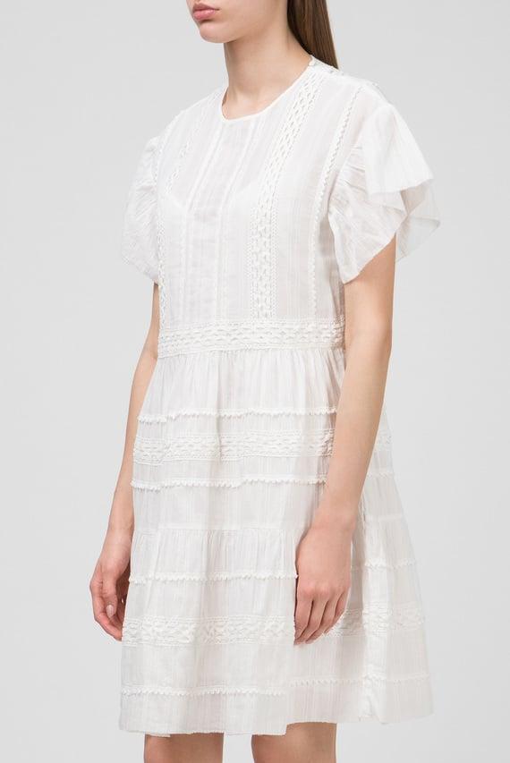 Женское белое платье GALINA