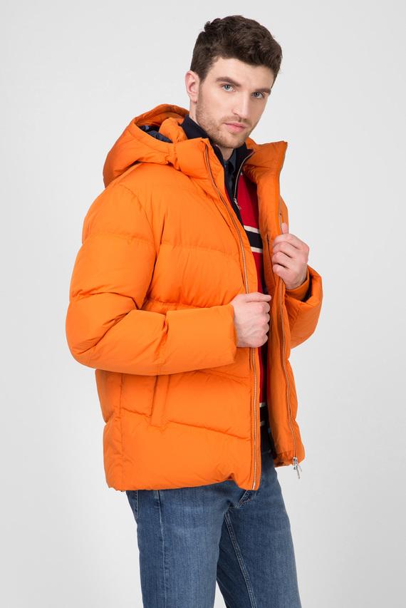 Мужской оранжевый пуховик THE ALTA