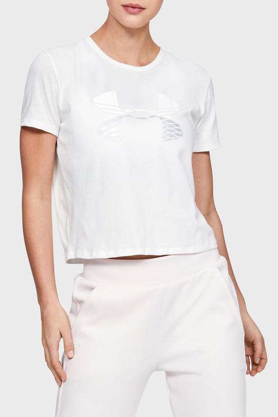 Женская белая футболка GRAPHIC FASHION BABY TEE LOGO