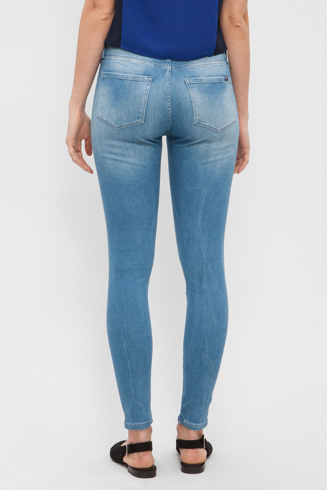 Купить Женские синие джинсы COMO RW SEAMLESS ANKLE ALEXES Tommy Hilfiger Tommy Hilfiger WW0WW03798 – Киев, Украина. Цены в интернет магазине MD Fashion