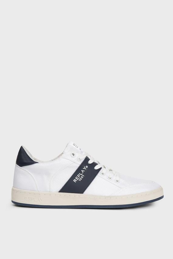 Мужские белые сникеры FERN 0122