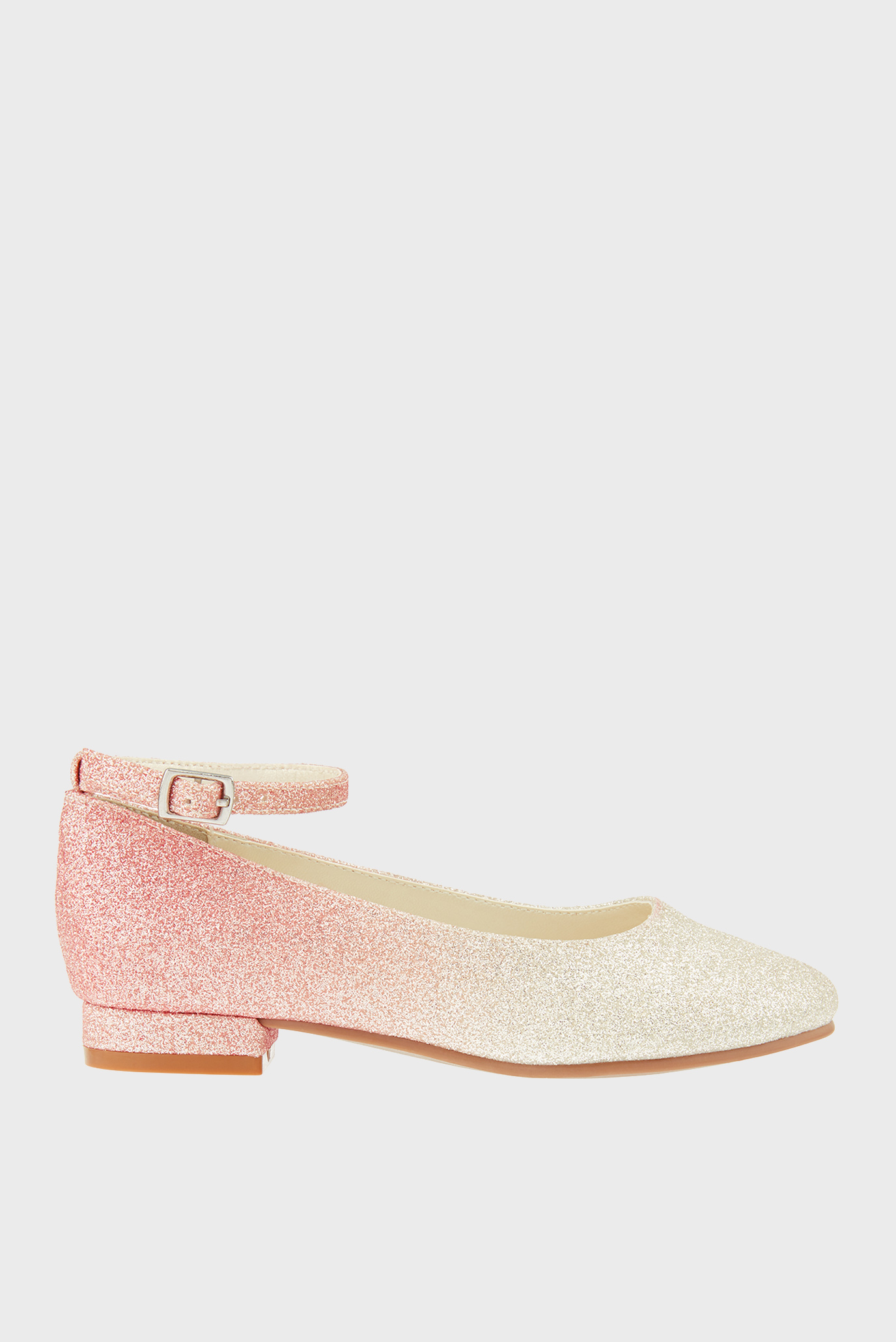 Детские розовые туфли PINK OMBRE GLITTER 1