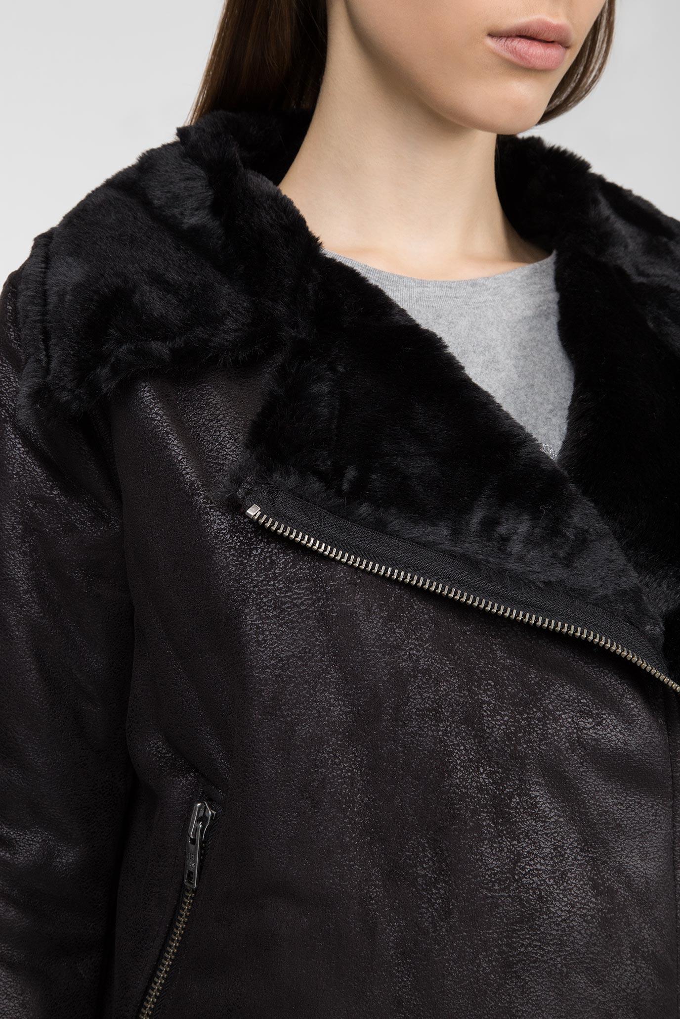 Купить Женская черная куртка GEORGIA Pepe Jeans Pepe Jeans PL401533 – Киев, Украина. Цены в интернет магазине MD Fashion