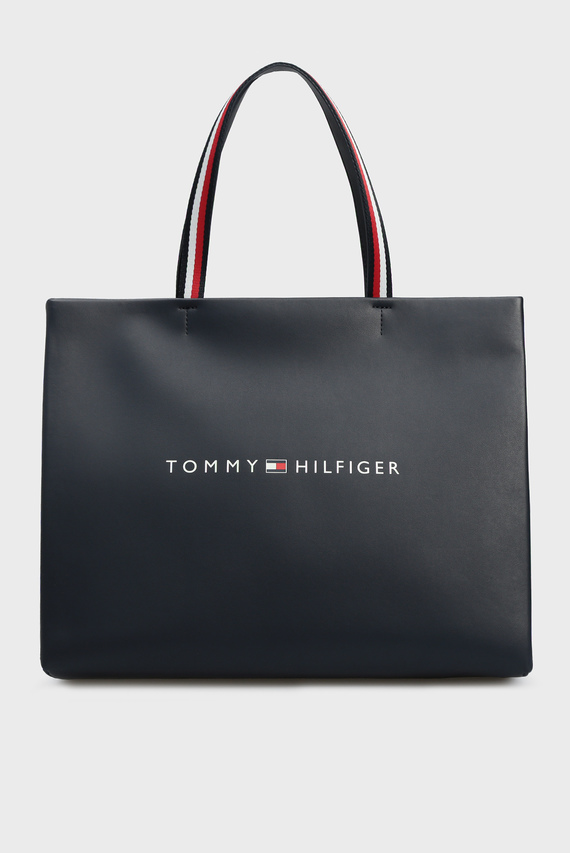 Женская темно-синяя сумка TOMMY